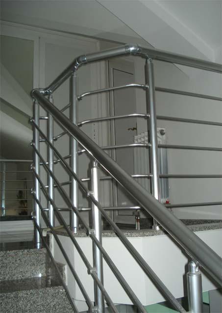 Aluminium And Glass Railings